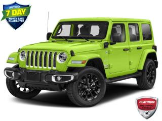 Used 2021 Jeep Wrangler Unlimited 4xe Sahara Dealer Demo for sale in St. Thomas, ON