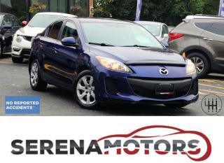 Used 2012 Mazda MAZDA3 GX | SEDAN | 5 SPEED MANUAL | NO ACCIDENTS | for sale in Mississauga, ON