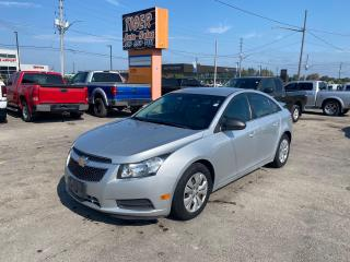 Used 2012 Chevrolet Cruze LS+ w/1SB*AUTO*SEDAN*4 CYLINDER*ONLY 186KMS*CERT for sale in London, ON