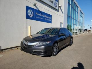 Used 2015 Acura TLX V6 TECH AWD   HTD LEATHER   SUNROOF   NAVI for sale in Edmonton, AB