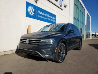 Used 2018 Volkswagen Tiguan HIGHLINE   TECH PKG   VW CERTIFIED for sale in Edmonton, AB