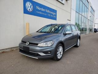 Used 2019 Volkswagen Golf Alltrack HIGHLINE | TECH PKG | LOW KMS | RARE SPEC | VW CERTIFIED for sale in Edmonton, AB
