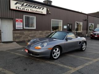 Used 2002 Porsche Boxster LOW KM-LOCAL TRADE-AUTOMATIC for sale in Tilbury, ON