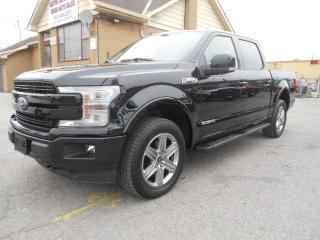 Used 2019 Ford F-150 Lariat Sport 3.0L Diesel Loaded ONLY 33,000Km for sale in Rexdale, ON