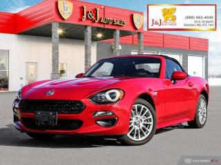 Used 2017 Fiat 124 Spider Classica Factory Warranty, A/C , Auto for sale in Brandon, MB