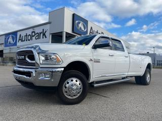 Used 2016 RAM 3500 Longhorn | REMOTE START | SUNROOF | FRONT HEATED & VENTILATED SEATS | NAVIGATION | for sale in Innisfil, ON
