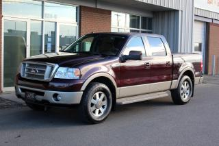 Used 2008 Ford F-150 King Ranch 4x4 Crew Cab - PREMIUM CASTANO LEATHER for sale in Saskatoon, SK