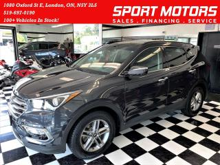 Used 2017 Hyundai Santa Fe Sport Luxury SPORT AWD+Heated Leather+GPS+Roof+Camera for sale in London, ON