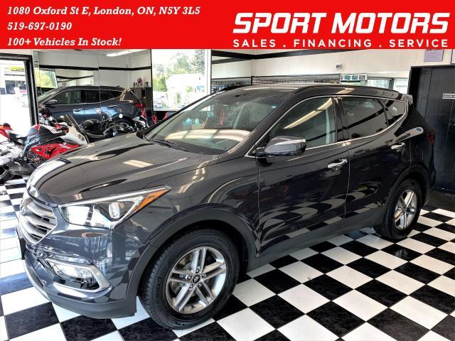 2017 Hyundai Santa Fe Sport Luxury SPORT AWD+Heated Leather+GPS+Roof+Camera