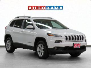 Used 2016 Jeep Cherokee North Navigation Heated Seats Cruise Control for sale in Toronto, ON