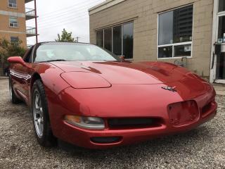 Used 1999 Chevrolet Corvette TARGA GLASS ROOF for sale in Waterloo, ON