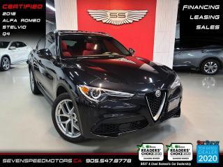 Used 2018 Alfa Romeo Stelvio for sale in Oakville, ON