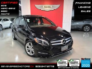 Used 2016 Mercedes-Benz B-Class for sale in Oakville, ON