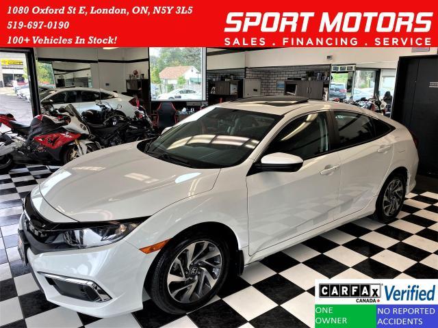 2020 Honda Civic EX+LaneKeep+Camera+ApplePlay+CLEAN CARFAX