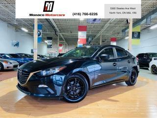 Used 2016 Mazda MAZDA3 NAVIGATION |CAMERA |PUSH START |ONE OWNER for sale in North York, ON