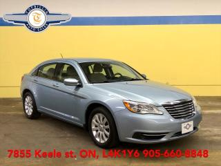 Used 2012 Chrysler 200 LX Only 73,000 Km, Heated Seats, 2 Years Warranty for sale in Vaughan, ON