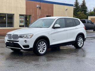 Used 2016 BMW X3 xDrive28d Diesel  Leather/Rear View Camera for sale in North York, ON