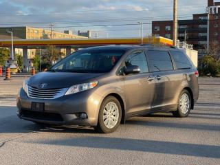 Used 2014 Toyota Sienna Limited Navigation /DVD/Panoramic Sunroof for sale in North York, ON
