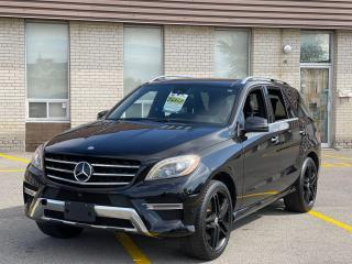 Used 2014 Mercedes-Benz M-Class ML 550 AMG Navigation /Panoramic Sunroof/Camera for sale in North York, ON
