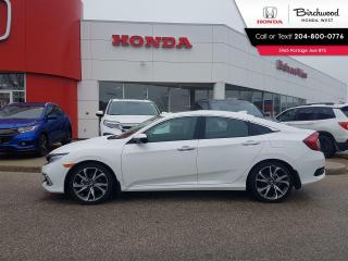Used 2020 Honda Civic Touring Leather - Navi - Heated Seats - Bluetooth - Back-Up Cam for sale in Winnipeg, MB