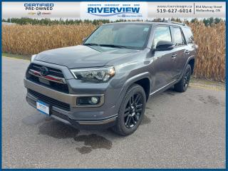 Used 2020 Toyota 4Runner 4WD | Navigation System | Sunroof | Leather Upholstery for sale in Wallaceburg, ON
