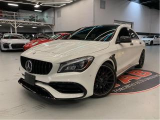 Used 2018 Mercedes-Benz CLA-Class CLA 45 | AMG | PANO | NAVI | COMING SOON for sale in Vaughan, ON