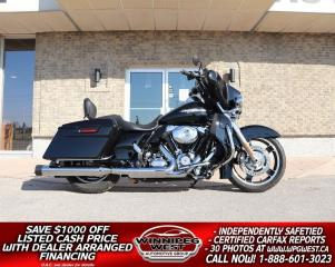 Used 2013 Harley-Davidson FLHX-103 Street Glide CLEAN BOLD LOOKS, LOTS OF $$ SPENT ON UPGRADES!! for sale in Headingley, MB
