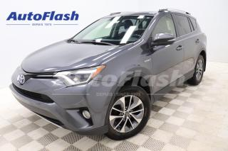 Used 2016 Toyota RAV4 Hybrid XLE *HYBRID/ELECTRIC *TOIT-OUVRANT/SUNROOF *CLEAN! for sale in Saint-Hubert, QC