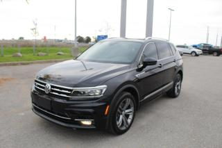 Used 2019 Volkswagen Tiguan 2.0L Highline for sale in Whitby, ON
