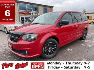 Used 2016 Dodge Grand Caravan SXT BlackTop | Remote Start | New Tires | Tri Zone for sale in St Catharines, ON