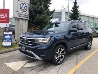 New 2021 Volkswagen Atlas 3.6L V6 SEL Premium for sale in Surrey, BC
