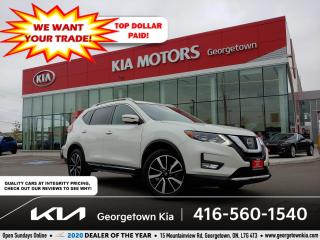 Used 2017 Nissan Rogue SL PLATINUM | CLN CRFX | PANO ROOF | NAV | BU CAM for sale in Georgetown, ON