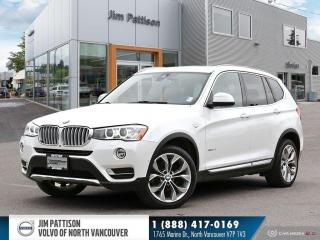 Used 2017 BMW X3 xDrive28i - LOCAL - ONE OWNER - NO ACCIDENTS for sale in North Vancouver, BC