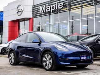 Used 2021 Tesla Model Y Model Y Fully EV Full Self-Driving Computer Navi for sale in Maple, ON