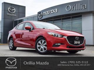 Used 2018 Mazda MAZDA3 GX for sale in Orillia, ON