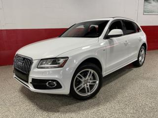 Used 2013 Audi Q5 TECHNIK S-LINE|CLEAN CARFAX|2.0L QUATTRO LED's PANO-ROOF for sale in North York, ON