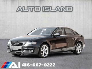 Used 2010 Audi A4 Auto quattro 2.0T Premium for sale in North York, ON