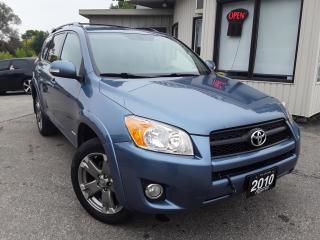 Used 2010 Toyota RAV4 Sport I4 4WD - LEATHER! SUNROOF! HEATED SEATS! for sale in Kitchener, ON