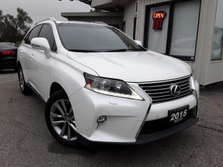 Used 2015 Lexus RX 350 AWD - LEATHER! NAV! BACK-UP CAM! BSM! HUD! for sale in Kitchener, ON
