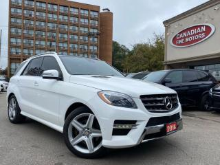 Used 2014 Mercedes-Benz ML 350 CLEAN CARFAX | AMG SPORTS PKG |  NAVI | CAM | PANO | 4 MATIC for sale in Scarborough, ON