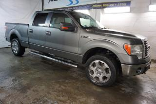 Used 2010 Ford F-150 V8 XTR 4X4 CREW CERTIFIED 2YR WARRANTY *FREE ACCIDENT* BLUETOOTH CRUISE ALLOYS BED COVER RUNNING BOARDS for sale in Milton, ON