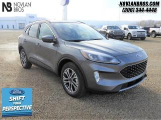 New 2021 Ford Escape SEL AWD  - Sunroof - Navigation for sale in Paradise Hill, SK