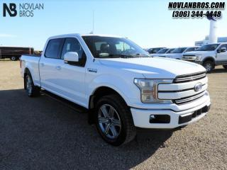 Used 2018 Ford F-150 Lariat  - Leather Seats -  Cooled Seats for sale in Paradise Hill, SK