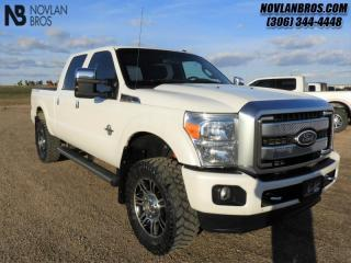 Used 2016 Ford F-350 Super Duty Platinum  - Navigation for sale in Paradise Hill, SK