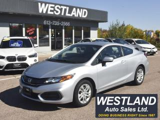 Used 2015 Honda Coupe LX for sale in Pembroke, ON