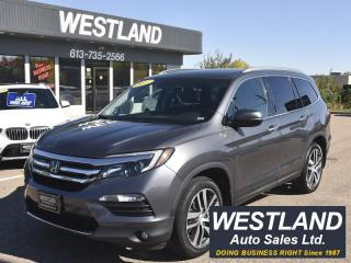 Used 2017 Honda Pilot Touring AWD for sale in Pembroke, ON