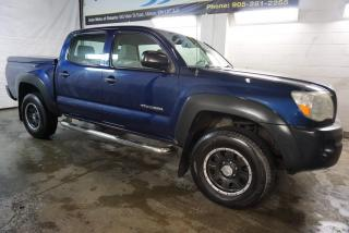 Used 2008 Toyota Tacoma DOUBLE CAB V6 4x4 CERTIFIED CRUISE TOW HITCH *2nd WINTER* RUNNING BOARDS for sale in Milton, ON