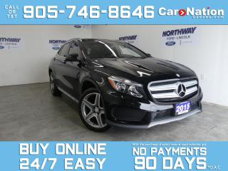 Used 2015 Mercedes-Benz GLA GLA 250   AWD   PANOROOF   NAV   LEATHER  ONLY 40K for sale in Brantford, ON