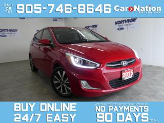 Used 2015 Hyundai Accent GLS | SUNROOF | BLUETOOTH | ALLOYS | HATCHBACK for sale in Brantford, ON