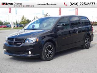 Used 2018 Dodge Grand Caravan SXT Premium Plus  SXT, BLACK TOP, STOW AND GO, DVD, NAV for sale in Ottawa, ON
